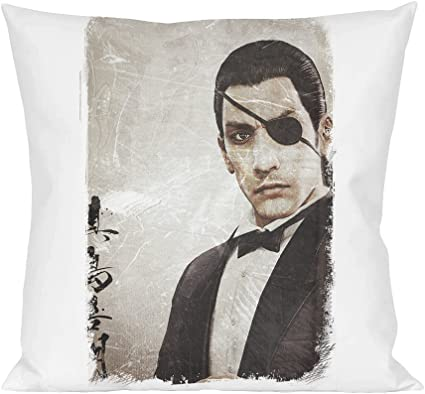 Yakuza 0 Goro Majima Pillow: Amazon.co