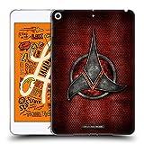Official Star Trek Empire Klingon Badges Soft Gel Case Compatible for iPad Mini (2019)