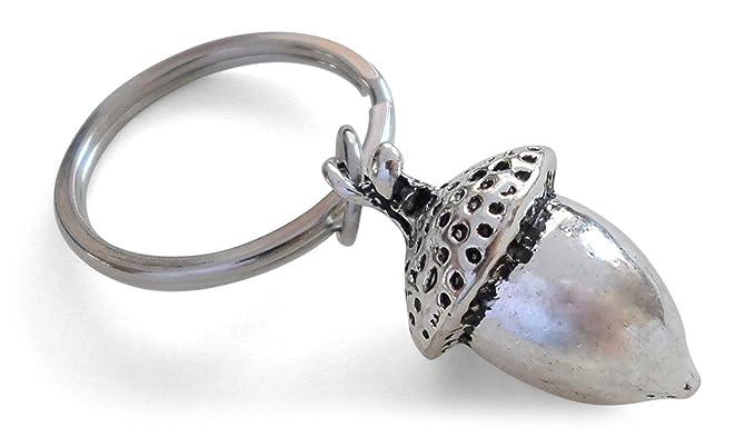 Amazon.com  Elongated Acorn Keychain - Peter Pan s Kiss  Clothing a210325cee3a