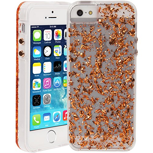 Case-Mate Carrying Case for Apple iPhone SE/5S/5 - Retail Packaging - Rose Gold