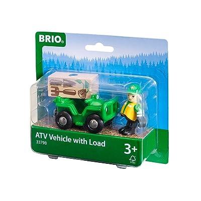 Brio World - 33798 - 4x4 FORESTIER ET PERSONNAGE