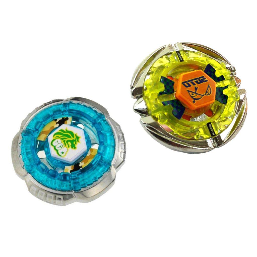 BB30 Sharplace 2 St/ück Fusion Master Metall 4D Kampfkreisel Kinderspielzeug Set BB35
