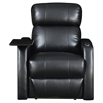 Exceptional Elements International Cecille Home Theater Power Recliner