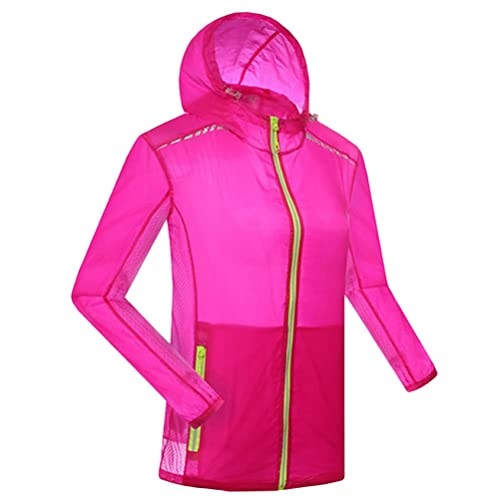 Zhuhaitf Multi-color Premium Womens Lightweight Rainproof Jacket Waterproof Coat 3197
