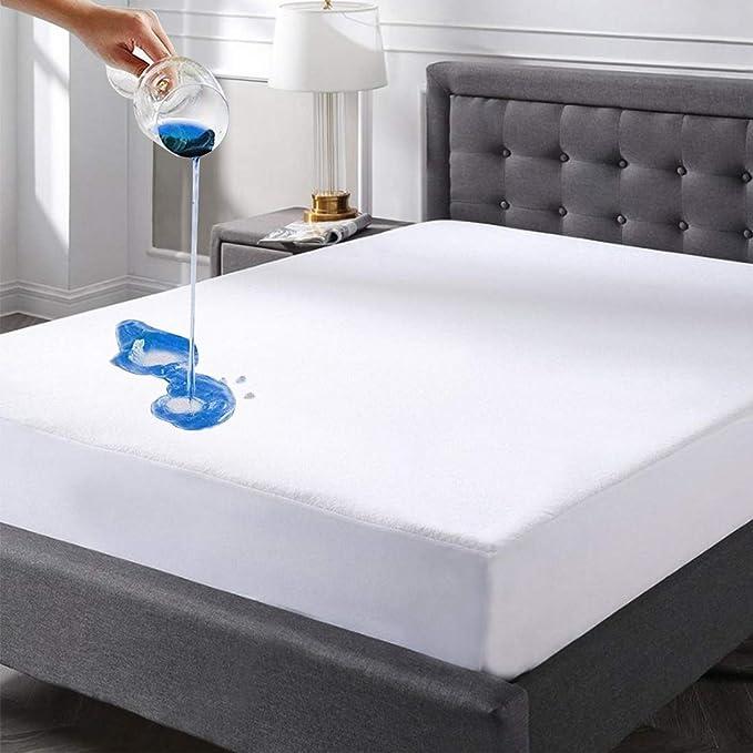 Amazon.com: Protector de colchón, impermeable, prémium ...