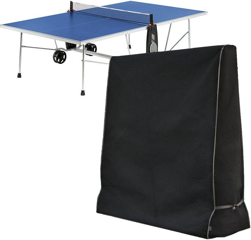 Xiliy Copertura Protettiva Per Tavolo Da Ping Pong Impermeabile 420d Oxford Polietilene 165 X 70 X 185 Cm Coperture Per Tavoli Casa E Cucina