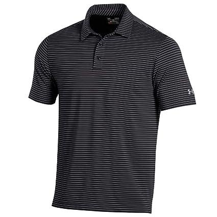 0f0d65e5c7 Under Armour New Men's 2018 Playoff Stripe Polo Shirt Black Medium