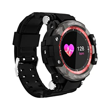 OOLIFENG Fitness Tracker Pulsómetros Relojes Deportes Pulsera Inteligente IP67 Impermeable para iOS Android,Red: Amazon.es: Deportes y aire libre