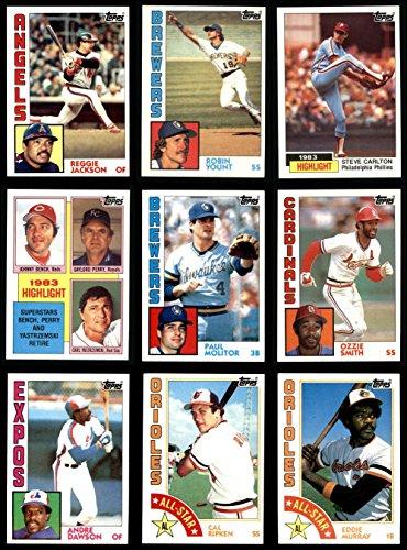 (1984 Topps Baseball Complete Set (In Box) (Baseball Set) Dean's Cards 8 - NM/MT)