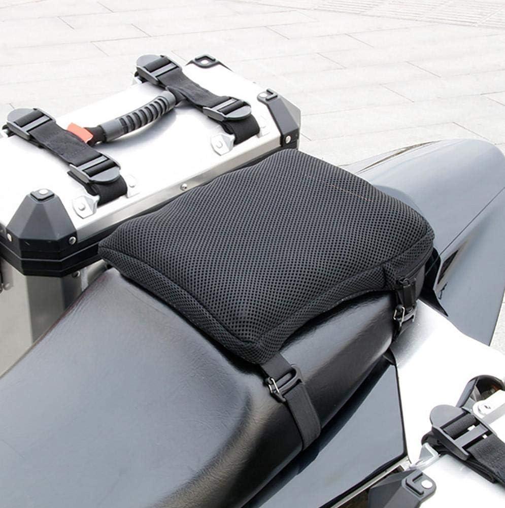 Convincied Air Motorrad Sitzkissen Sitzpolster Druckentlastungsfahrt Motorrad Luftkissen Gro/ß F/ür Cruiser Touring S/ättel