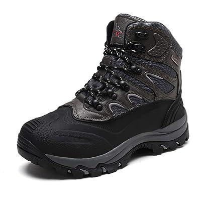 NORTIV 8 Men's Waterproof Winter Hiking Snow Boots | Snow Boots