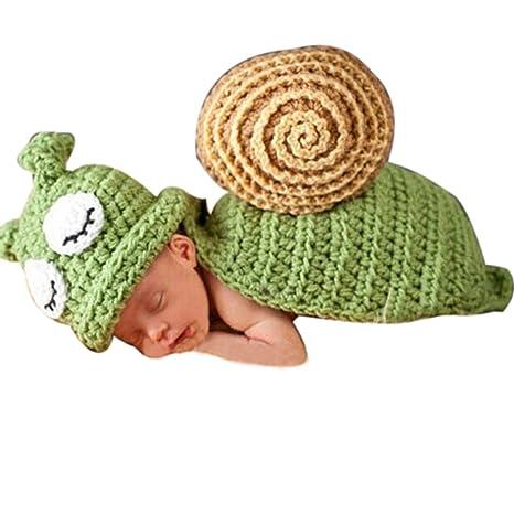Amison Cute Foto Prop Costume Vestiti Ragazza Neonato Uncinetto