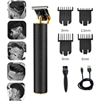 2021 New Cordless Zero Gapped Trimmer Hair Clipper, Pro Li Outliner USB Rechargeable Grooming Kits IP6X Waterproof T…