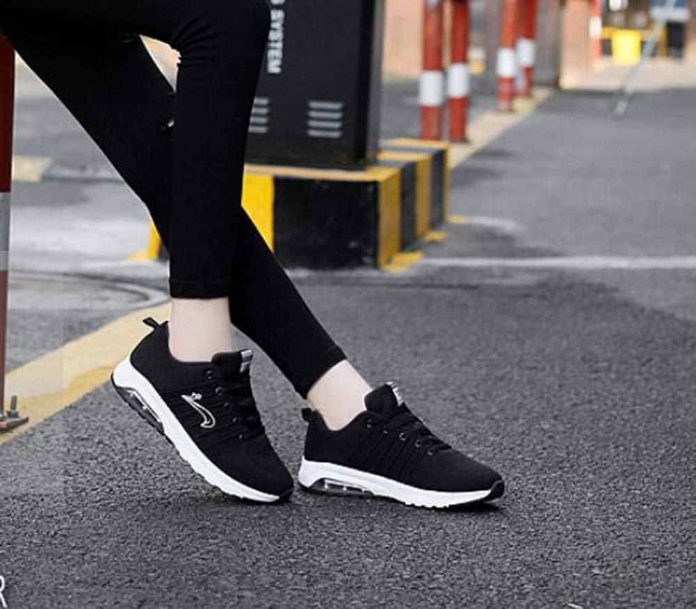 Damen Damen Damen Turnschuhe fallen neue leichte atmungsaktive Laufschuhe Mode stricken Laufschuhe Damen Sport Outdoor-Schuhe (Farbe   C Größe   38) c6e2ed