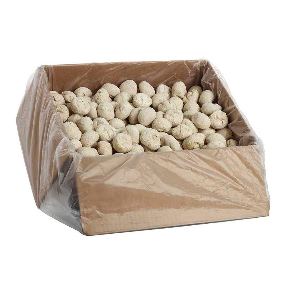 Pennant Bread Basket Parkerhouse Wheat Dinner Roll, 1.25 Ounce - 240 per case.