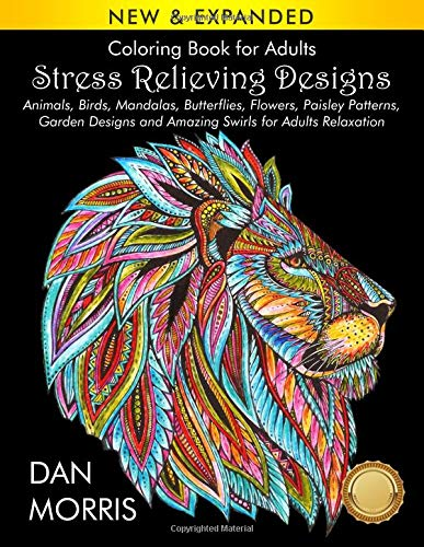 Pdf History Coloring Book for Adults: Stress Relieving Designs: Animals, Birds, Mandalas, Butterflies, Flowers, Paisley Patterns, Garden Designs, and Amazing Swirls for Adults Relaxation