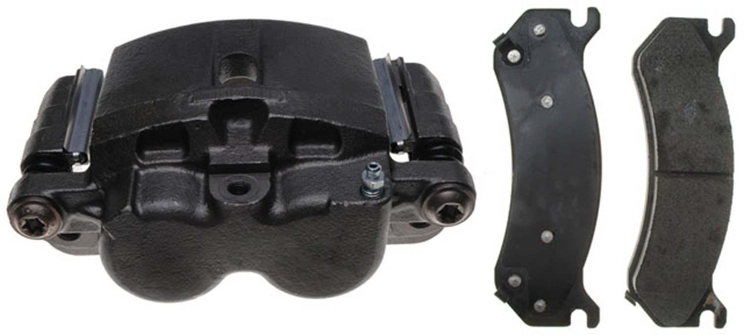 ACDelco 18R1379 Professional Durastop Rear Disc Brake Caliper Assembly with Pads Remanufactured Loaded
