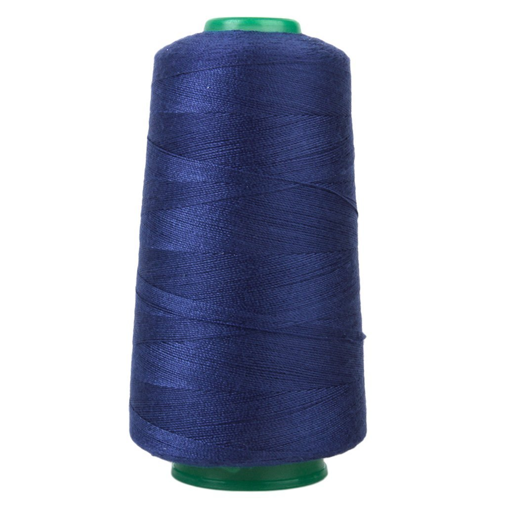 Nicedeal fili da cucire poliestere fili da cucire fili per macchina da cucire Bobine di filo da cucire in poliestere 3000 Yards Blu Atmosfera di casa deco