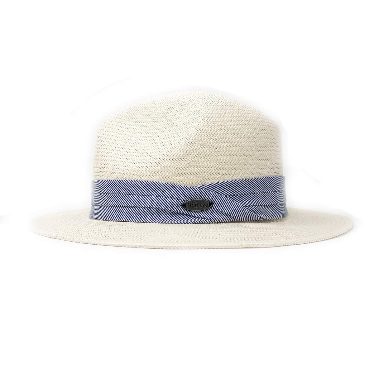 Wallaroo Hat Company Women's Monterey Fedora - Natural - Elegant Fedora, Modern Style by Wallaroo Hat Company (Image #2)