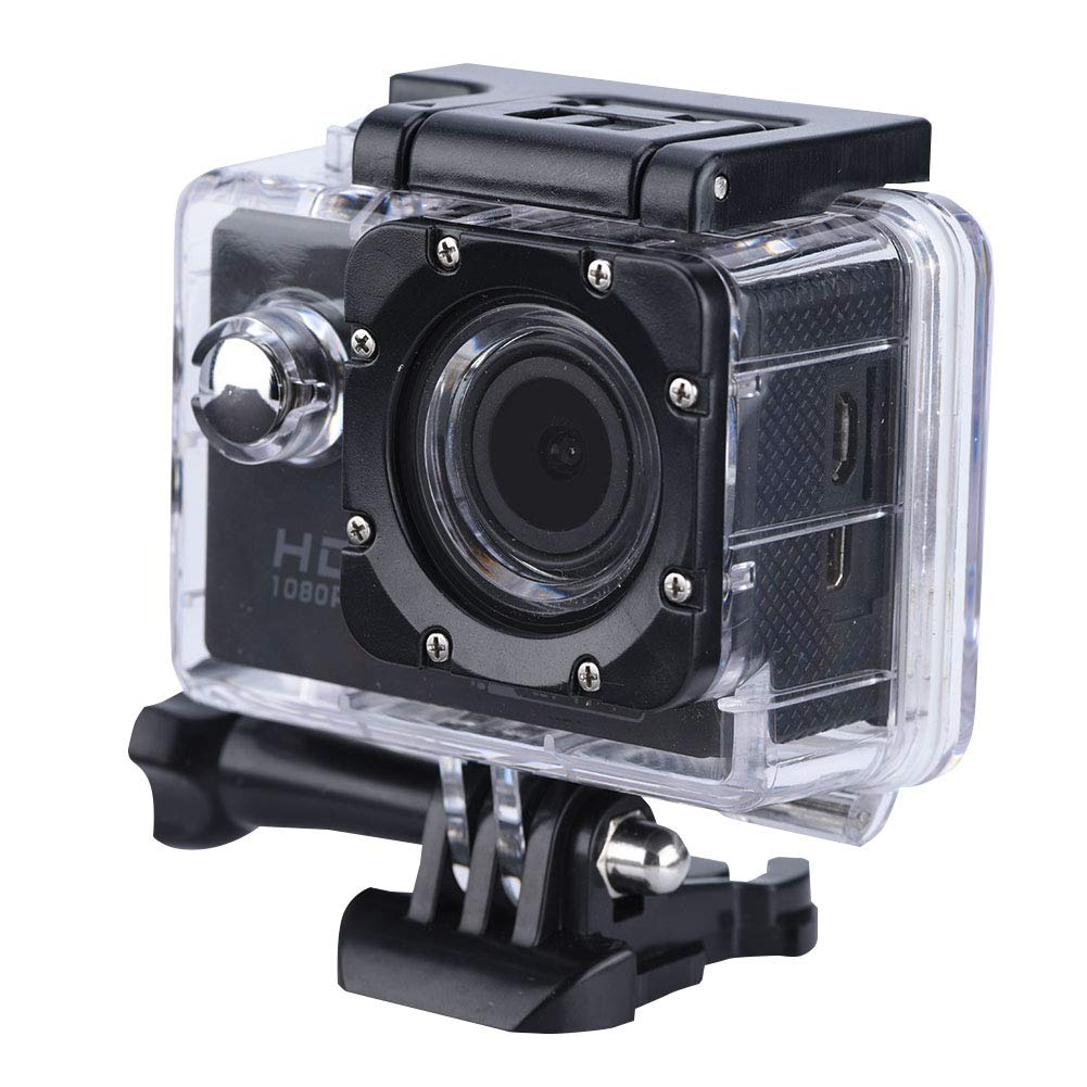 fosa WiFi Action Camera Waterproof Cameras, HD 1080P Diving Camera Underwater 30m/98FT Camcorder with Kinds of Mounting Accessories for Motorcycle, Bike, Helmet, Car, Ski and Vacation