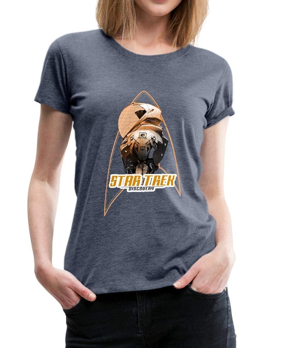 Star Trek Discovery Raumanzug Titelsequenz Frauen Premium T-Shirt