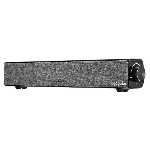 4 opinioni per Docooler Bluetooth 4.0 Speakers Sound Bar Uscita Home Theater 20W Da Doppio