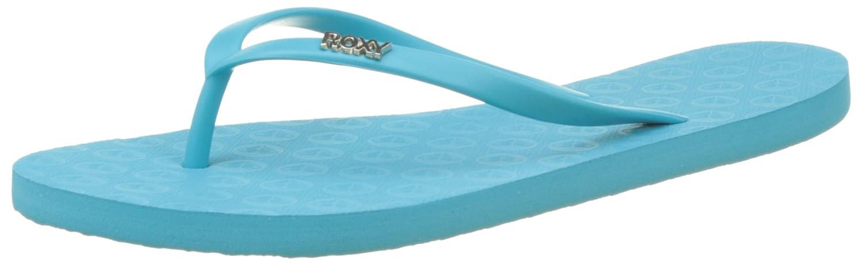 Roxy Damen Viva Iii Zehentrenner  40 EU Blau (Pool Blue)