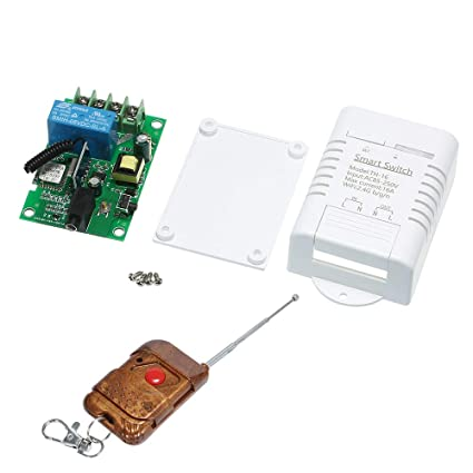 Festnight Wifi Smart Switch Compatible with Sonoff & EWeLink, Alexa