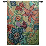 Fine Art Tapestries ''French Sunflower II'' Wall Tapestry