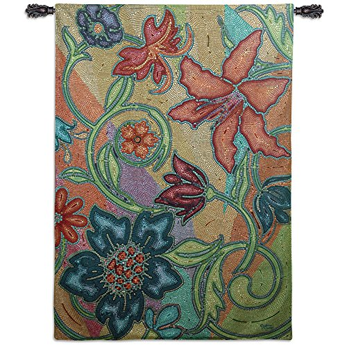Flower Power Fine Art Tapestries - Pretty floral wall hangings - Cool wall decor