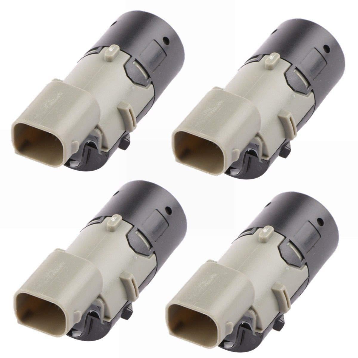 MOSTPLUS 4PCS PDC Backup Parking Sensors For BMW 3-7 Series X5 E39 Z4 E85 E46 E39 E60 E63 E38 E65 66206989069