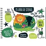 Mi libro de stencil: En la jungla
