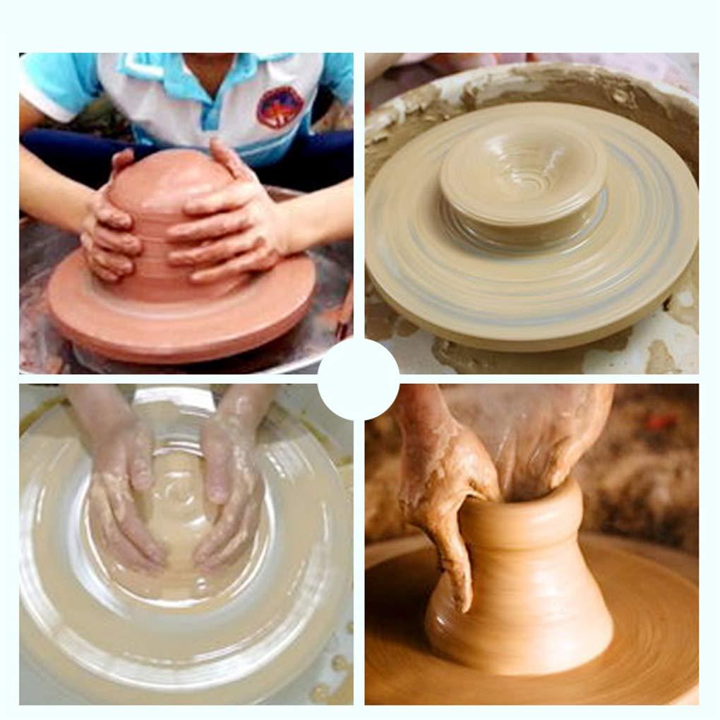 Hotaluyt Keramik Sculpting Wheel Stand Heavy Duty Metallaufbau Kugellager Keramik-Drehscheibe