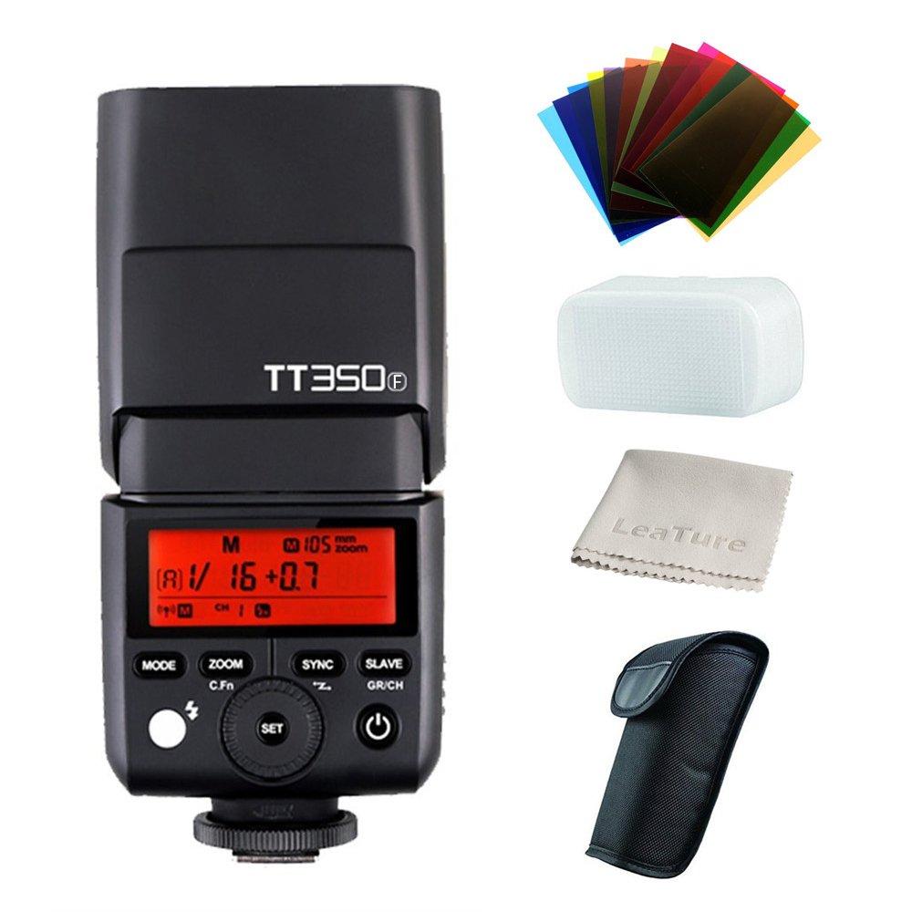 Godox TT350F HSS 1/8000s TTL GN36 Camera Flash Speedlite for Fuji Cameras X-Pro2,X-T20,X-T2,X-T1,X-Pro1,X-T10,X-E1,X-A3,X100F,X100T