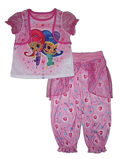 Kids Shimmer And Shine PjsSHIMMER /& SHINE Pyjama Set