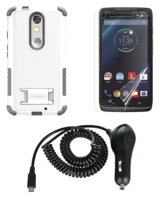 Motorola Droid Turbo 2 XT1585 (Verizon) – [resistente al impacto carcasa Armor]