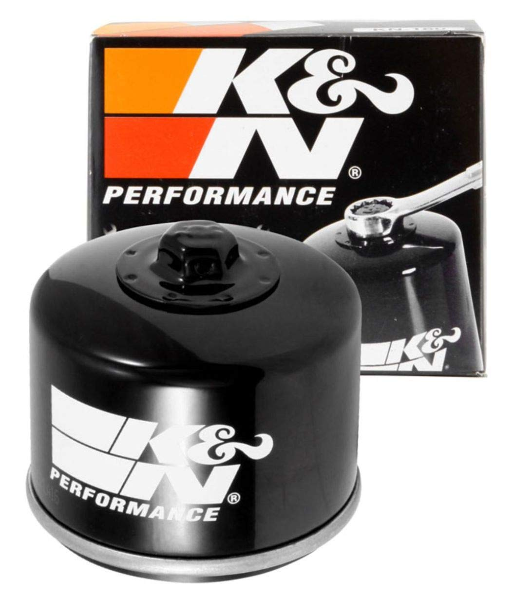 K&N Motorcycle Oil Filter: High Performance, Premium, Designed to be used with Synthetic or Conventional Oils: Fits Select BMW Motorcycles, KN-160