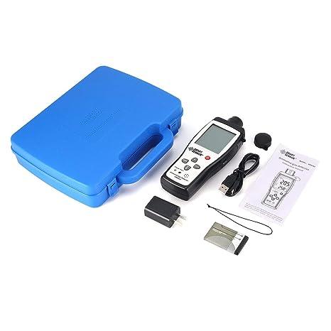 Lorenlli Sensor Inteligente AR8500 Monitor de Calidad del Aire Medidor de Gas Amoníaco TEMP Analizador de