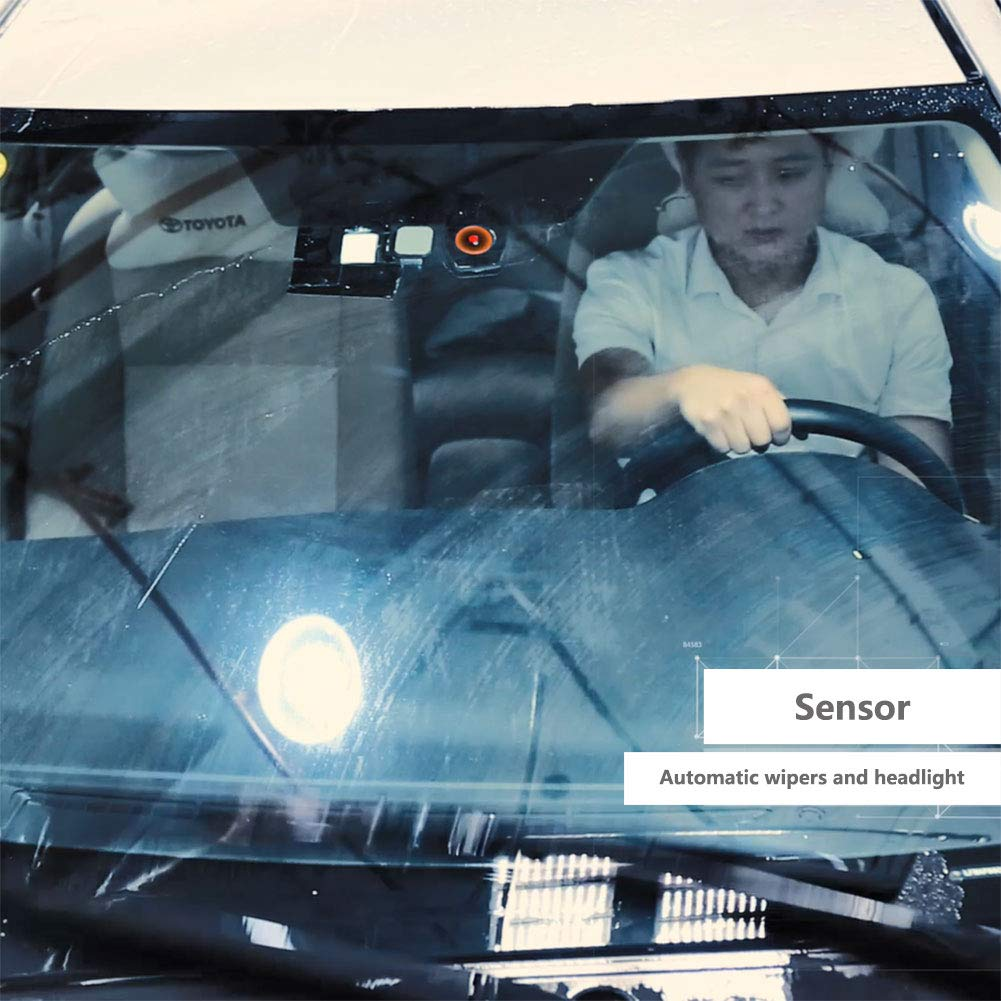SVVSS Automatic rain Sensing Wipers and Headlight Sensor Smart Driving Assistant for Toyota by SVVSS (Image #3)