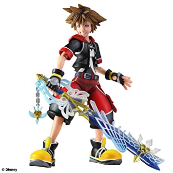 Kingdom Hearts 3D Play Arts Kai Sora Action Figure
