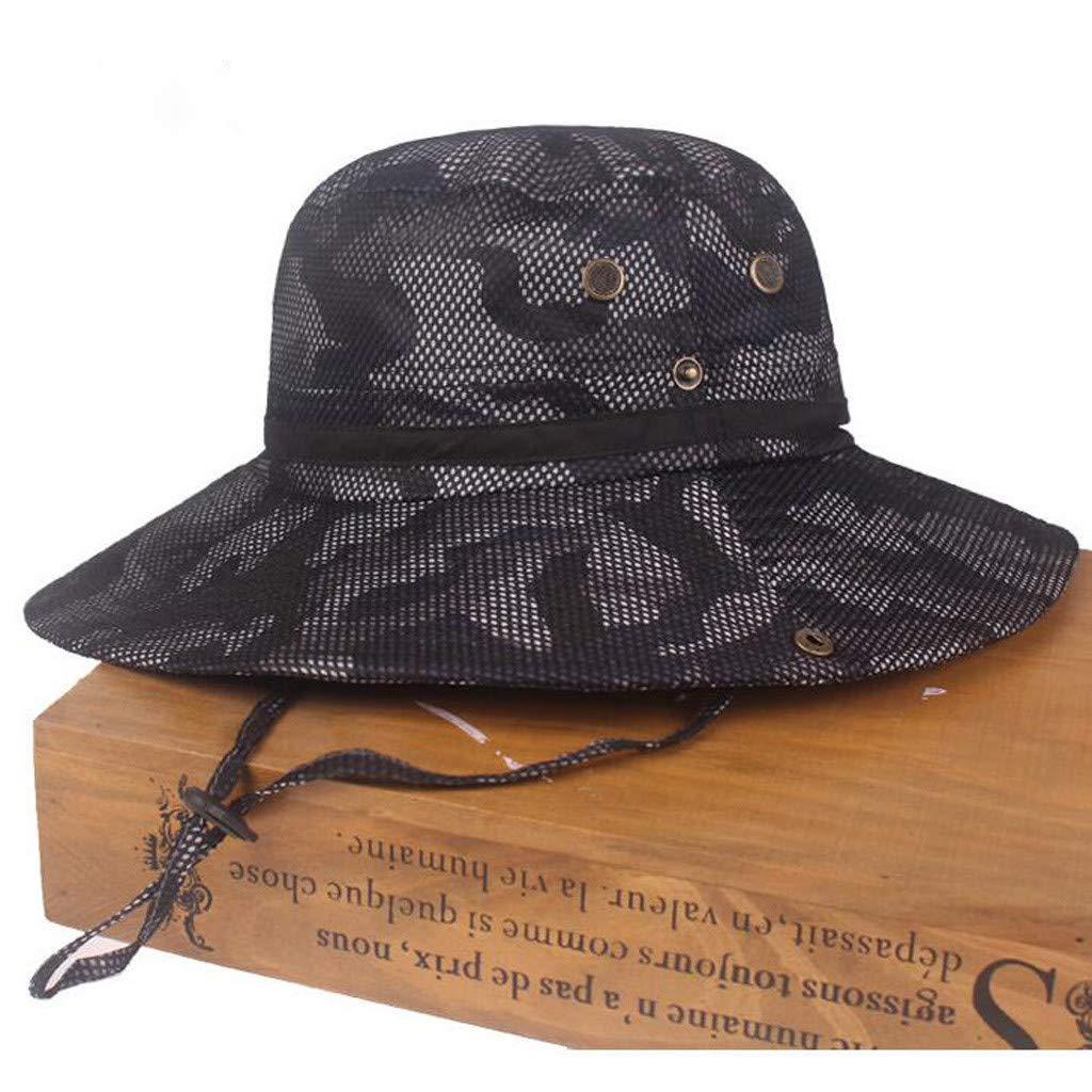 TUDUZ Sombrero De Pescador De Camuflaje Sombrero De Visera Al Aire ...