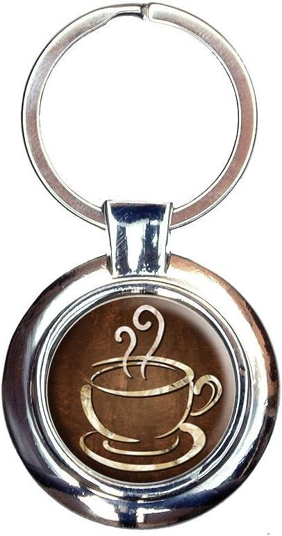 Coffee cup   Acrylic keychains, Keychain, Keychain design