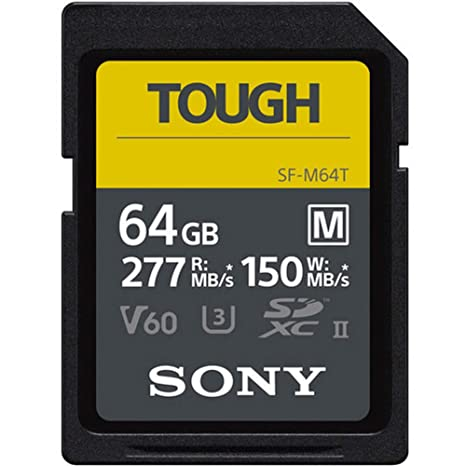 Sony - Tarjeta de Memoria Digital (SF-M, 64 GB, UHS-II, U3 ...