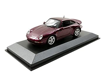 Minichamps 940069200 Maxichamps 1:43 1997 Porsche 911 Turbo S-Red Metallic