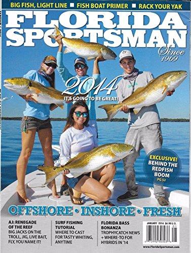 Florida Sportsman magazine January 2014