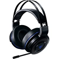 Razer Thresher Stereo Headset for PC & PS4: Lag-Free Wireless Connection - Retractable Digital Microphone - Custom Sound Control Dials - 16-Hour Battery Life