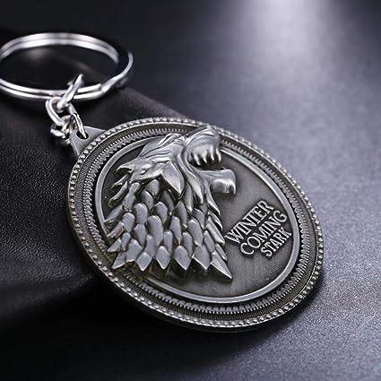 MINTUAN Juego de Tronos Llavero Casa Targaryen Llaveros de ...