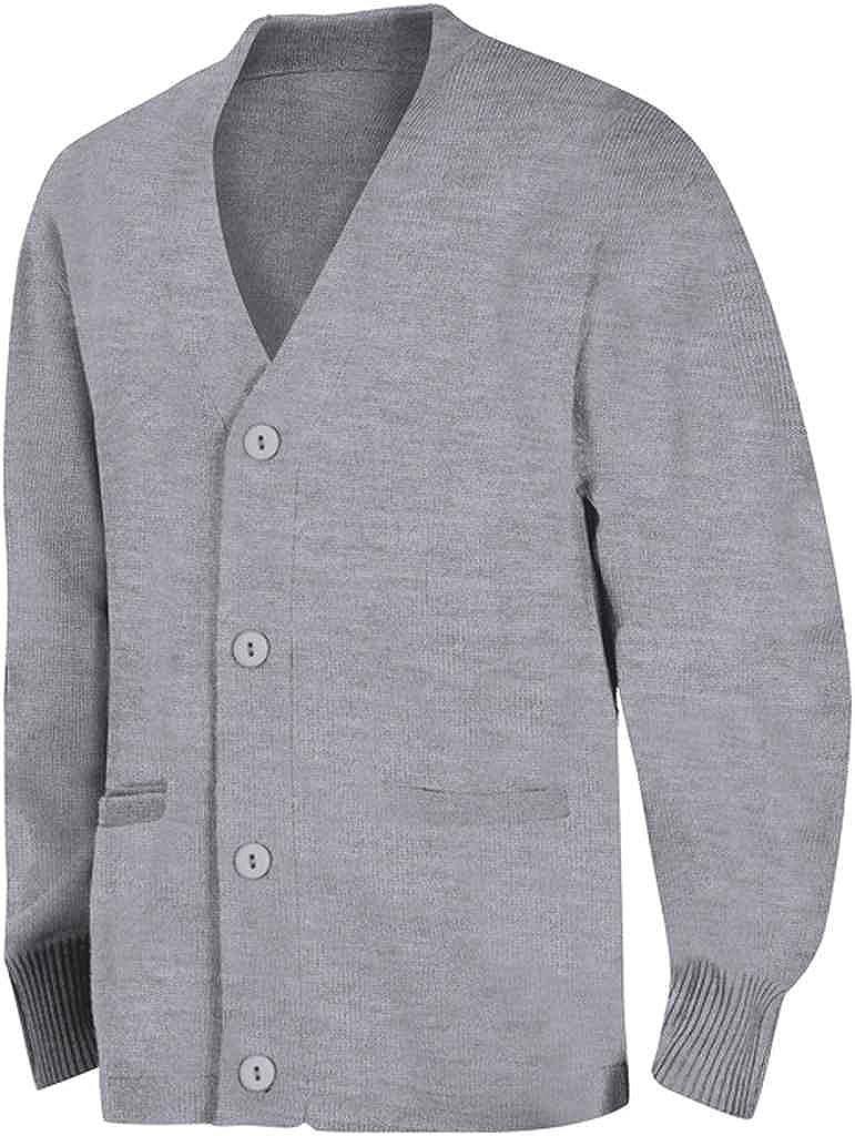 Classroom Big Boys Uniform Youth Unisex Cardigan Sweater