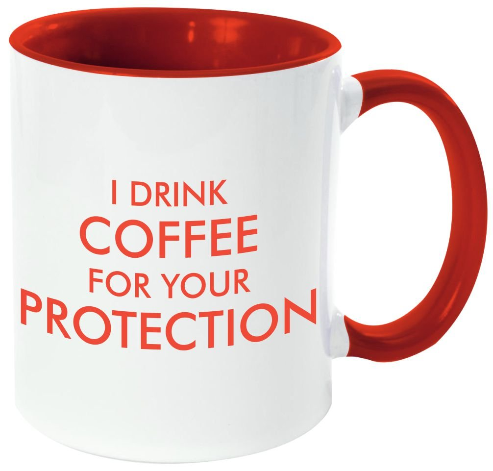 Amazon Rikki Knight I Drink Coffee For Your Protection