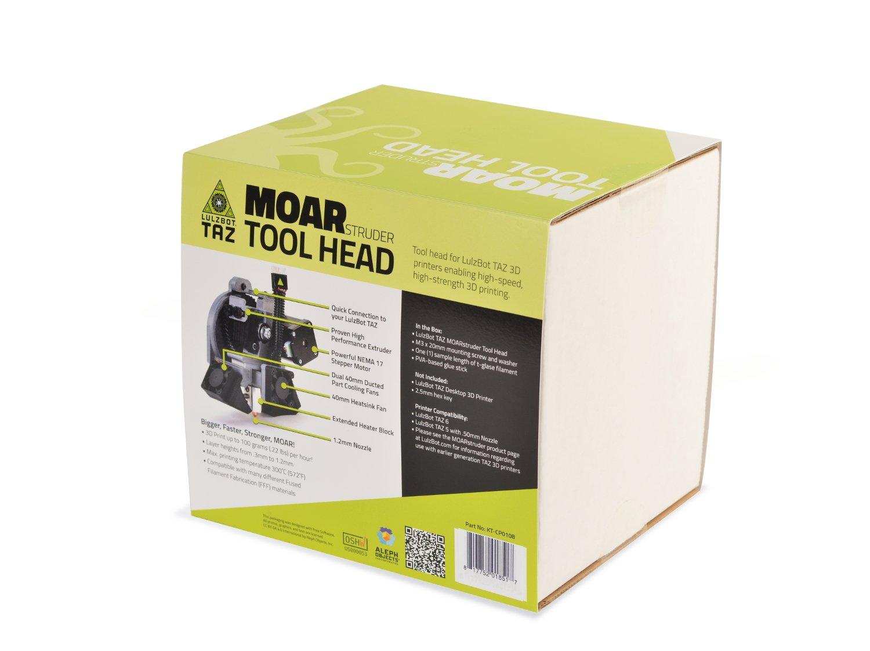 LulzBot TAZ MOARstruder Tool Head Aleph Objects Inc KT-CP0108